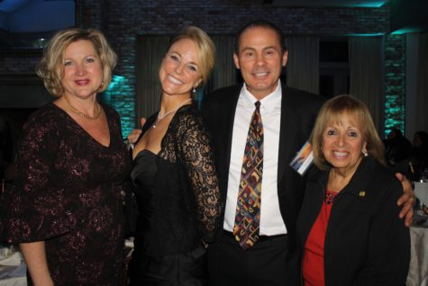 ADVANCING PARTNERSHIPS: Long Island MacArthur Airport Commissioner Shelby LaRose-Arken, FIN and Palms Hotel co-owners Laura and Christopher Mercogliano, and Town of Islip Superintendent Angie Carpenter at the Discover Long Island Tourism Awards Gala. (Photo by Laura Schmidt)
